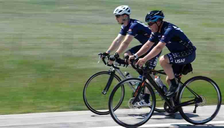 senior using e bikes