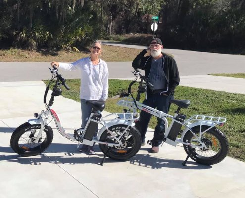 DJ Folding Bikes by Melinda and Richard Roberts